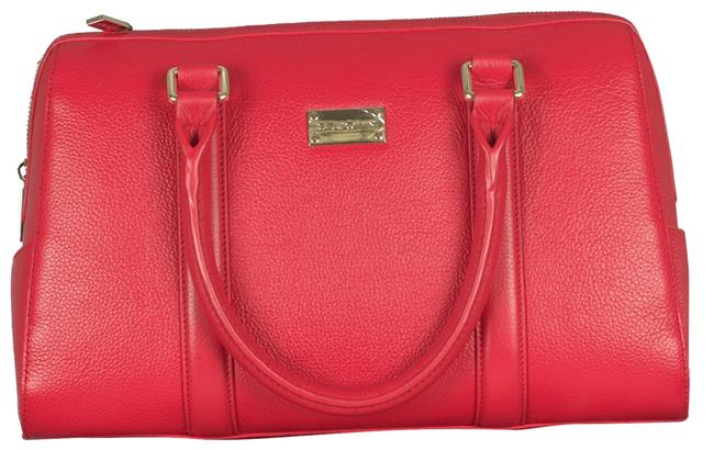 Item - Pebble Doctor Crimson Red Leather Tote