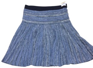 Marc by Marc Jacobs Skirt blue, silver