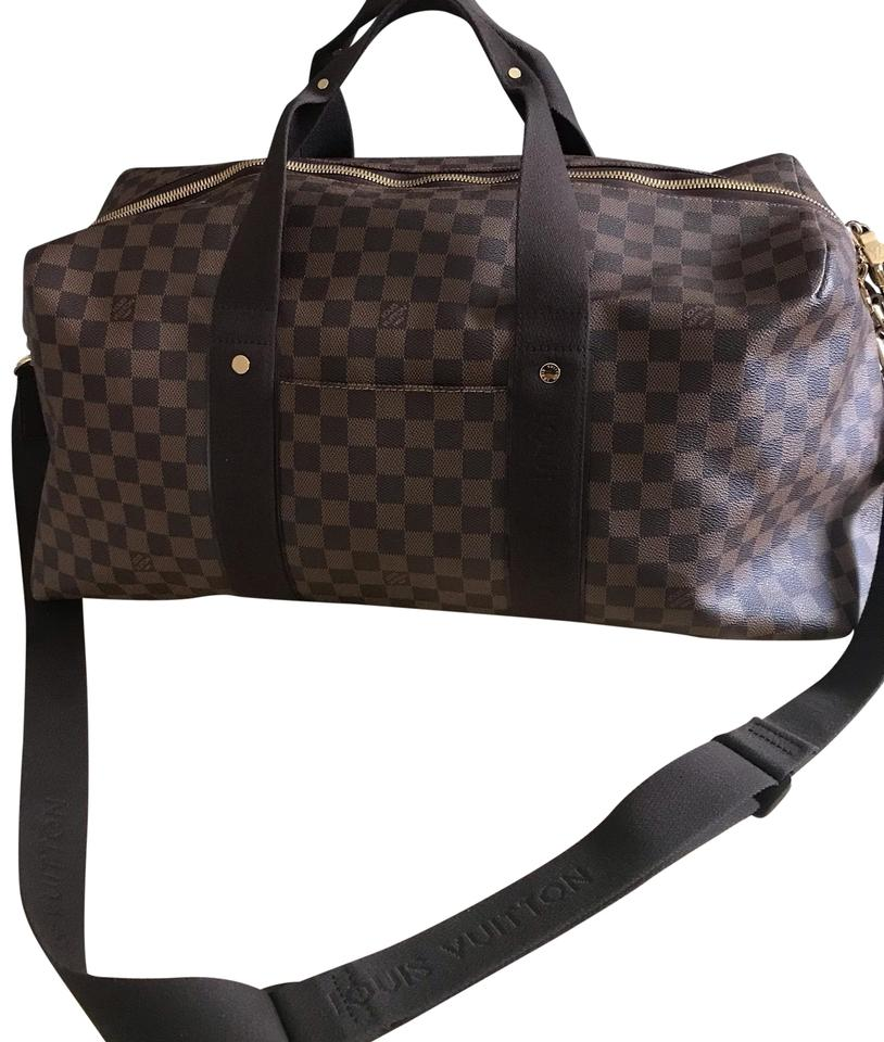 c92732dc54c8 Louis Vuitton Beaubourg Keepall Duffle Gm Damier Ebene Canvas ...