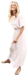 White Maxi Dress by Sézane Chic Boho Bohemian Midi Flowy