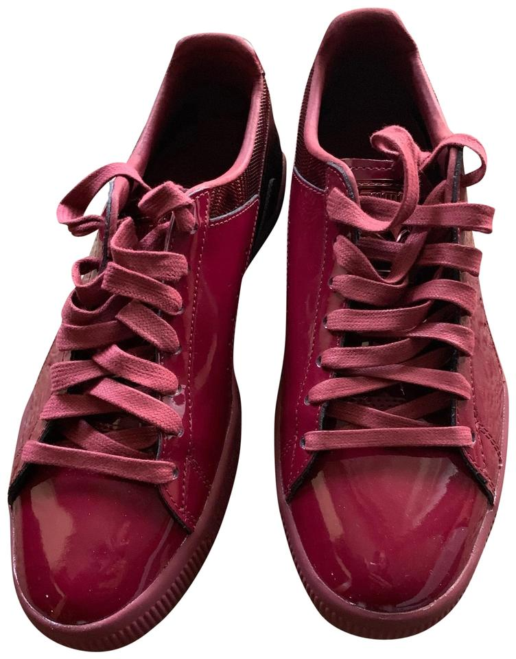 best service 067e7 c776a Burgundy Clyde Wrath Sneakers