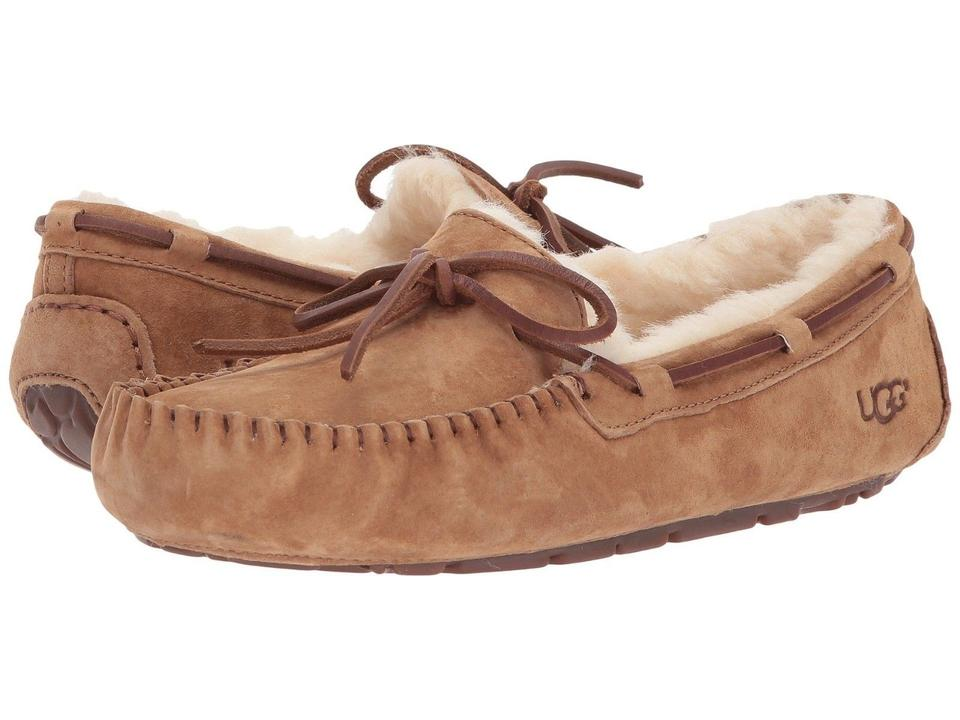 08154cac1a5 UGG Australia Chestnut Women Dakota 5612 Moccasin Slipper Boots/Booties  Size US 12 Regular (M, B)