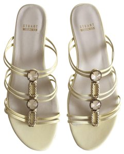 Stuart Weitzman light yellow Sandals