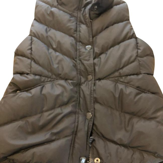 Item - Gray/Brown Pre Owned Puffer M Vest Size 8 (M)