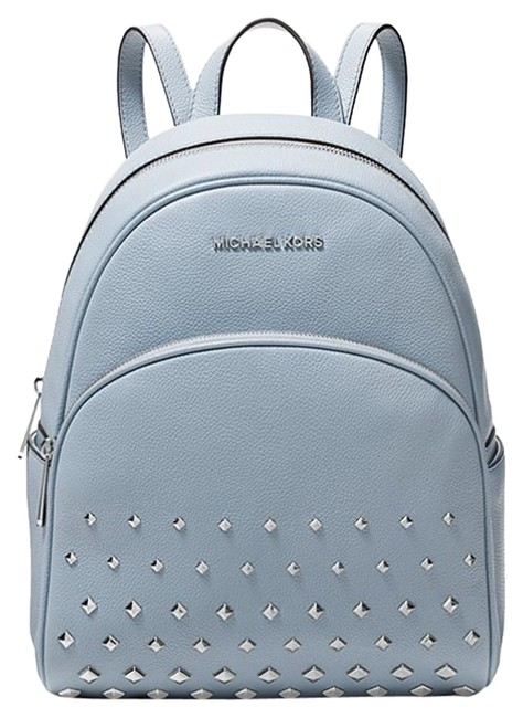 Item - Abbey Studded Blue Canvas Backpack