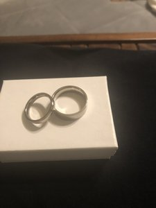 JVL Silver Woman and Man Ring