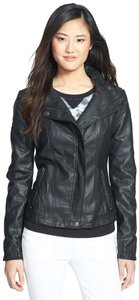 RD Style Faux Leather Moto Motorcycle Jacket
