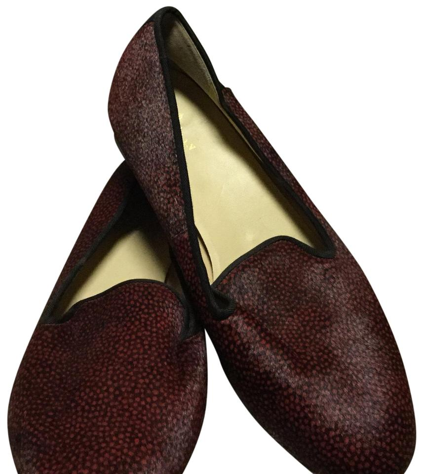 d0f0ff35617 Cole Haan Red Black Deacon Loaferballet Flats Size US 9.5 Regular (M ...