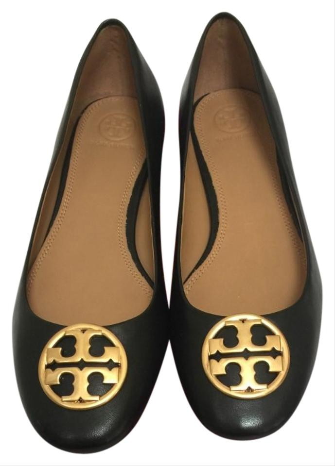 28fc77a1f6a Tory Burch Black Chelsea 25mm Ballet Flats Size US 8.5 Regular (M