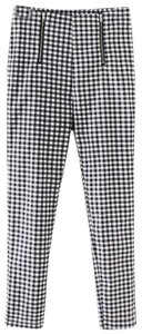 SheIn Trouser Pants Black and white