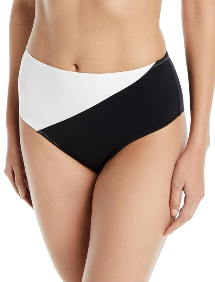 a824853e8321f Diane von Furstenberg DVF Paneled Cheeky High Waisted Bottom Bikini Image 0  ...