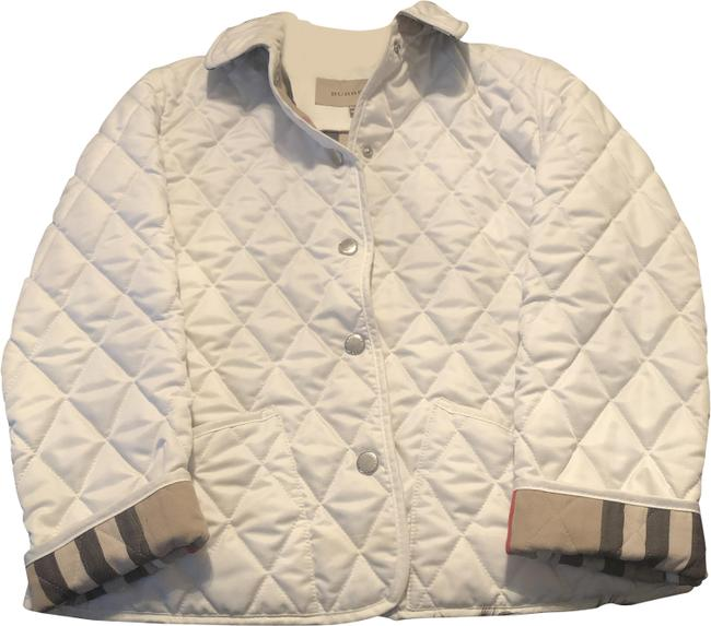 Item - White Girl Lyle Diamond Quilted Big Jacket Size 12 (L)