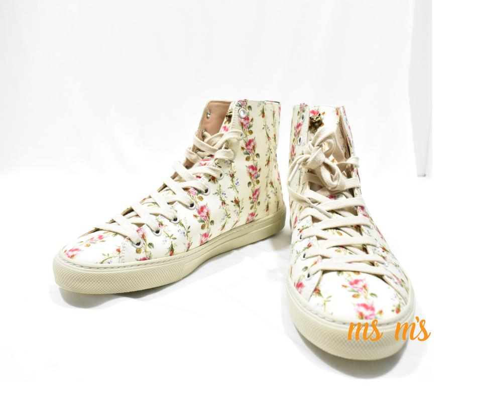 b622a60ed71 Gucci Major  blind For Love  Floral Print High Top Sneakers Sneakers ...