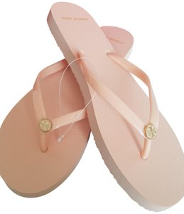 Tory Burch Flip Flop Blush Thong Nude Sandals