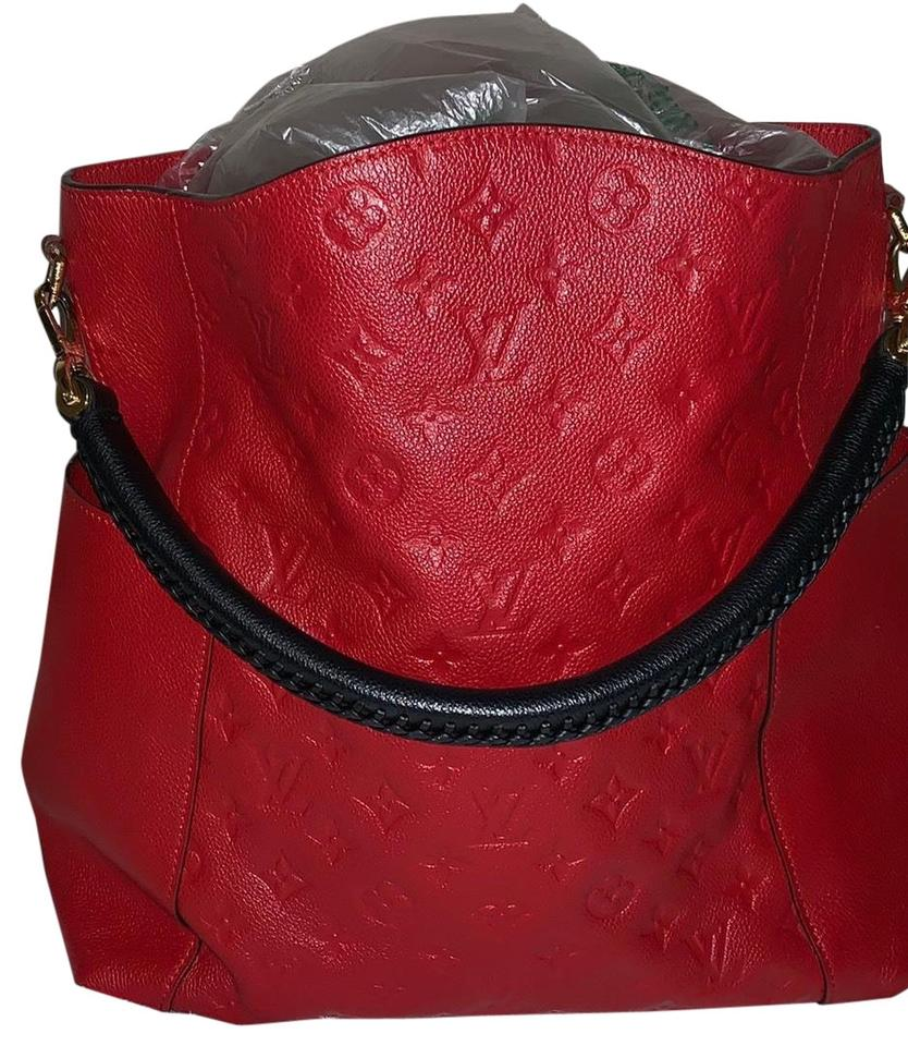 d25feee83 Louis Vuitton Bagatelle Empreinte Red/Black Black/Red Leather Hobo ...