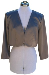 Eliza J #bolero #satin #formal Black Jacket