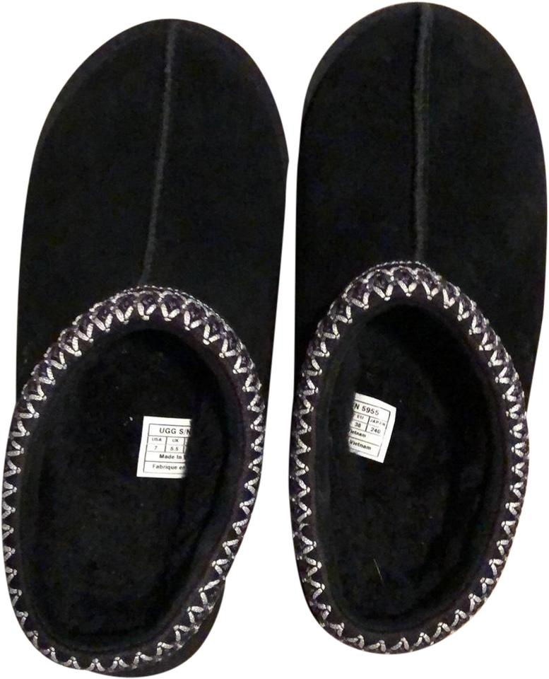 7b8565a0ec6 Black Tasman Slipper Flats
