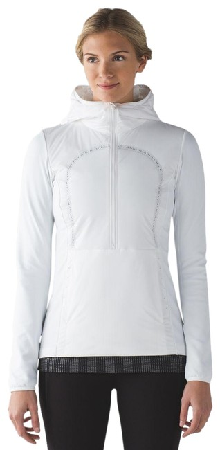 Item - White Run For Cold Pullover Activewear Gear Size 6 (S, 28)