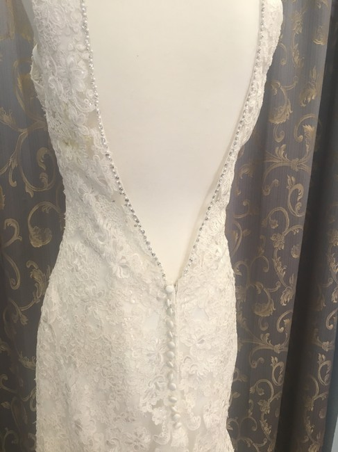 Item - Ivory Lace 2807 Traditional Wedding Dress Size 14 (L)