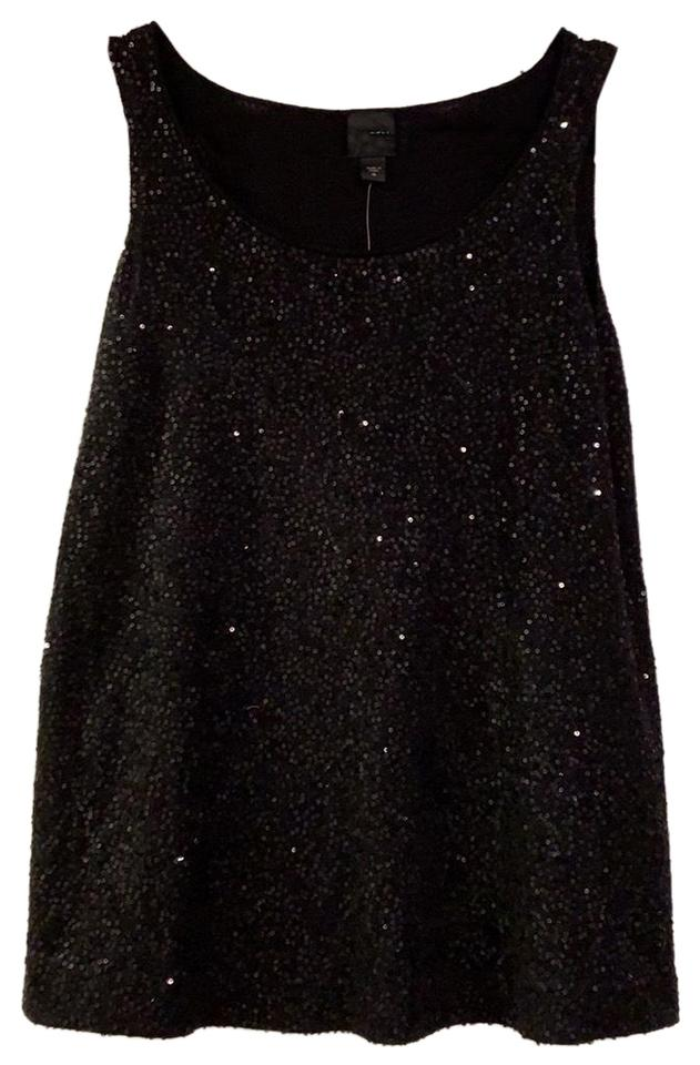 6d50089ab66 Eileen Fisher Sequin Tank Top - Tradesy