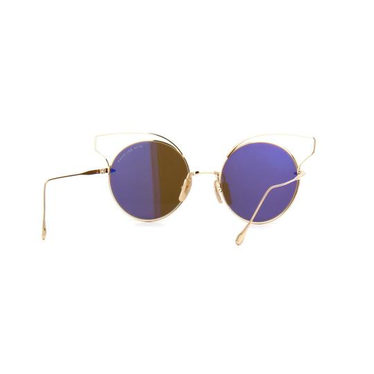 Dita New Dita Believer Sunglasses 23008B Tan 12K Gold / Dark Brown Gold Image 6