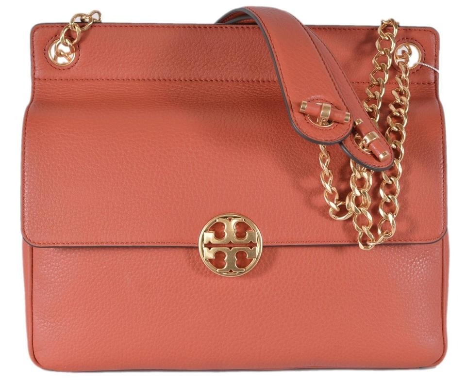 91276f3deae6 Tory Burch New Chelsea Pebbled Kola Leather Shoulder Bag - Tradesy
