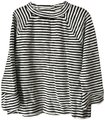 Ann Taylor LOFT Pullover Mock Turtle Long Sleeves Cotton Tunic Image 0
