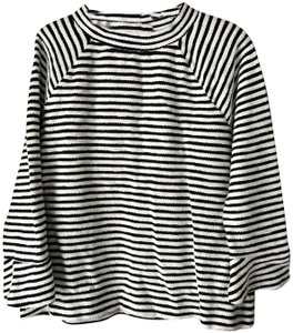 Ann Taylor LOFT Pullover Mock Turtle Long Sleeves Cotton Tunic
