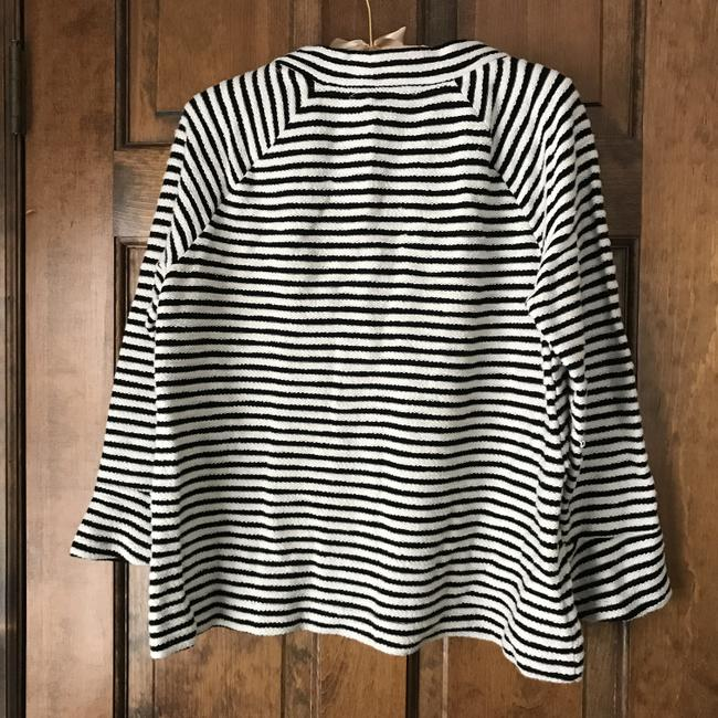 Ann Taylor LOFT Pullover Mock Turtle Long Sleeves Cotton Tunic Image 2