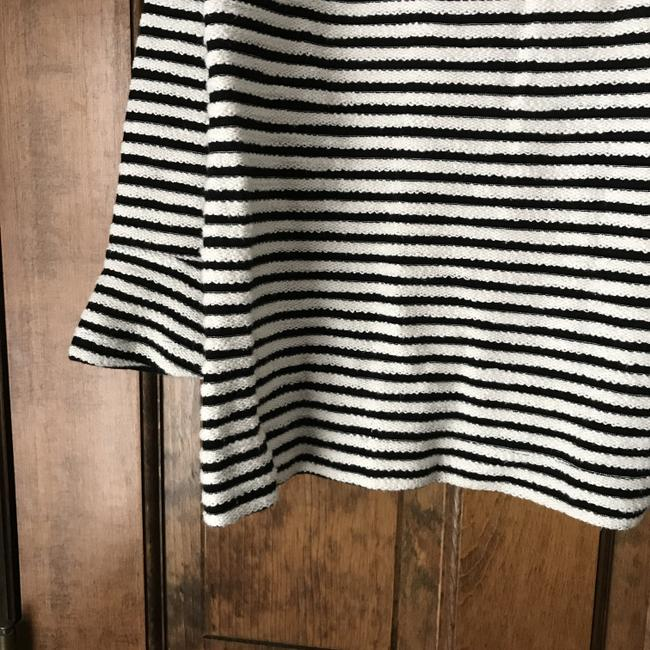 Ann Taylor LOFT Pullover Mock Turtle Long Sleeves Cotton Tunic Image 6