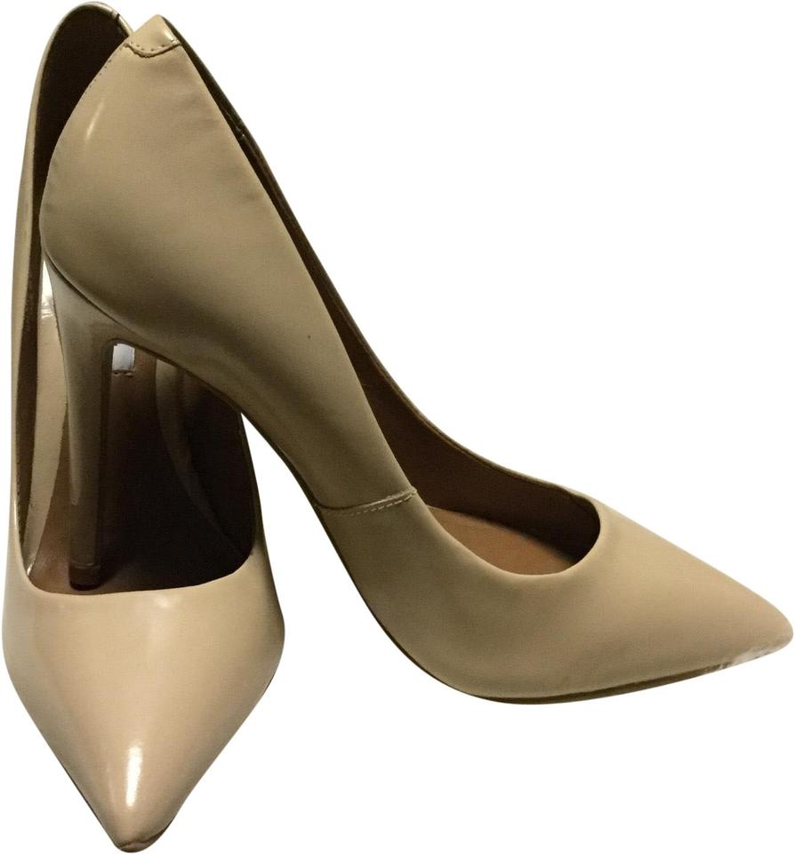 6d0bea9c49e Steve Madden Nude Daisie Patent Leather Pointed Pumps Size US 8.5 Regular  (M, B) 53% off retail
