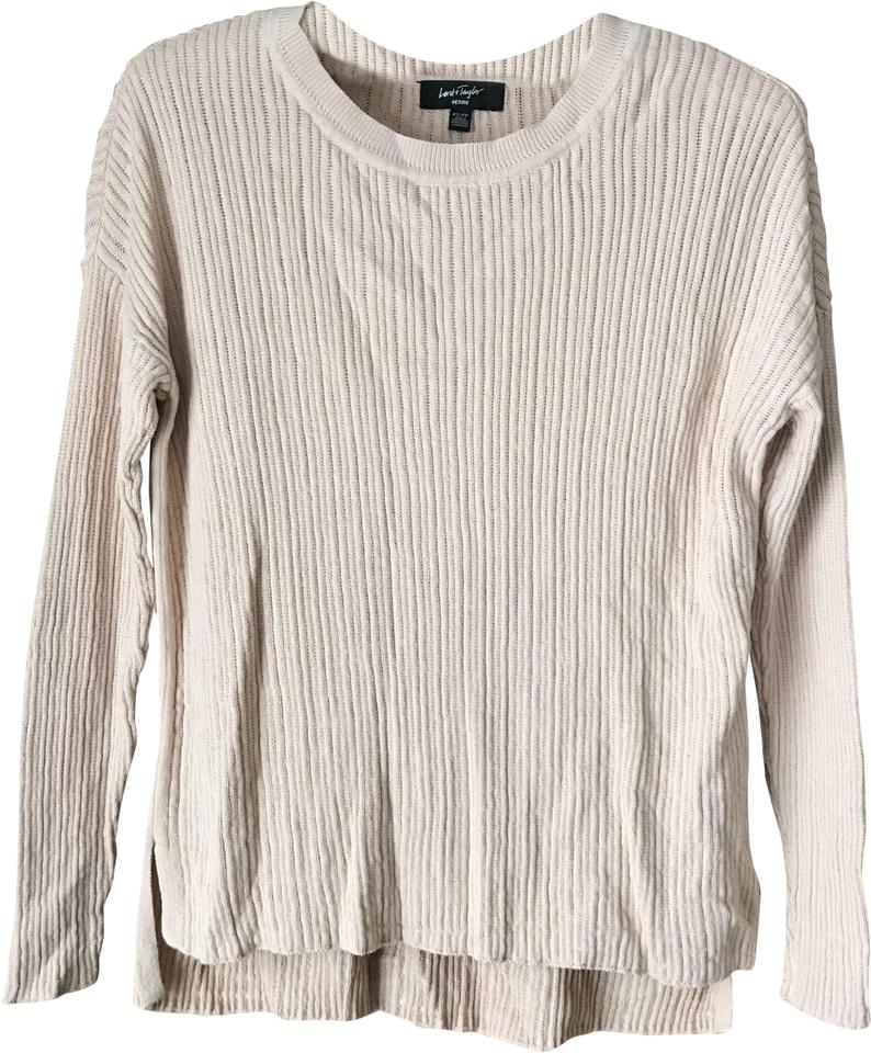 5525e658a50 Lord   Taylor High-low Pale Pink Sweater - Tradesy