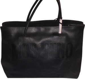 Moschino Satchel in Blacl
