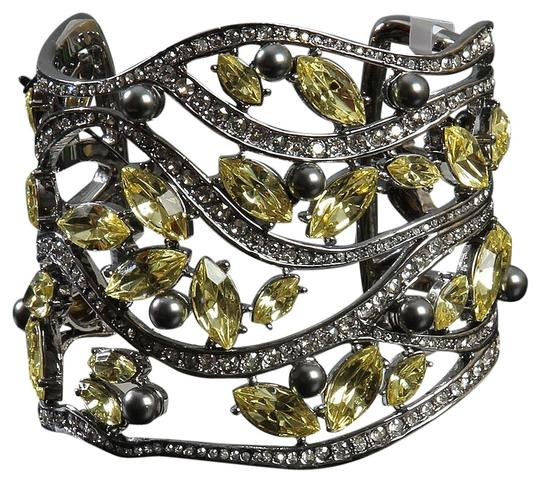 Preload https://img-static.tradesy.com/item/24887341/st-john-silver-tone-citron-crystals-open-cuff-with-bracelet-0-1-540-540.jpg