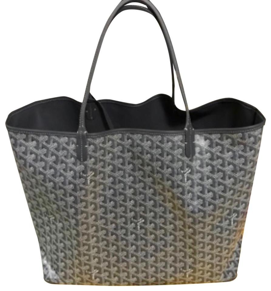 Goyard Anjou Reversible Gm Grey Special Color Tote Tradesy