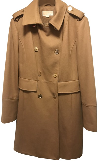 Item - Dark Camel Wool Coat Size 16 (XL, Plus 0x)