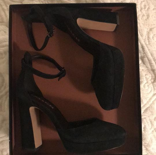 Coach Black Platforms