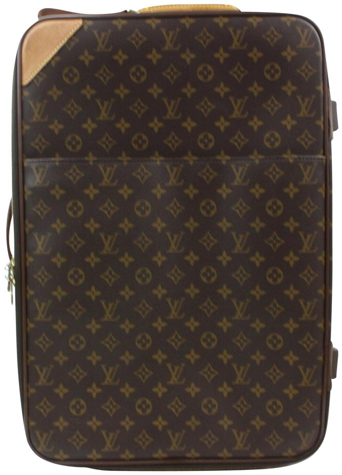 8f0774ef5 Louis Vuitton Rolling Trolley Zephyr Horizon Bosphore Brown Travel Bag  Image 0 ...