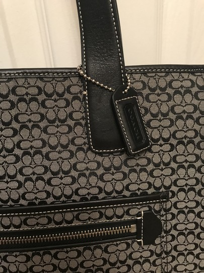 Coach Tote Weekender Black Diaper Bag