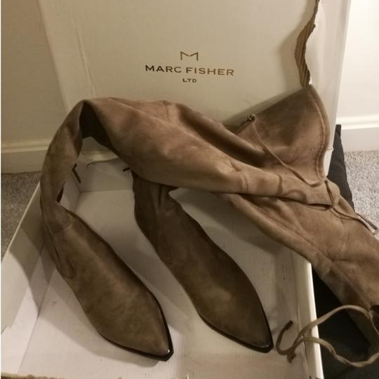 Marc Fisher TAN Boots