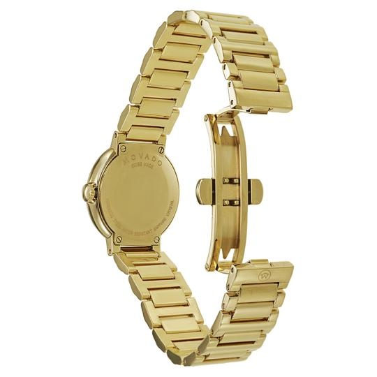 Movado MOVADO Women's Museum Gold Dial Yellow Gold-plated Watch 0606704