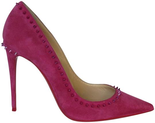 Preload https://img-static.tradesy.com/item/24887903/christian-louboutin-pink-dark-fushia-suede-anjalina-100-spike-pumps-size-eu-38-approx-us-8-regular-m-0-3-540-540.jpg