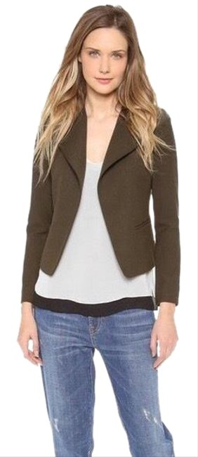 Preload https://img-static.tradesy.com/item/24887932/vince-olive-green-high-double-closure-wool-jacket-size-2-xs-0-1-650-650.jpg