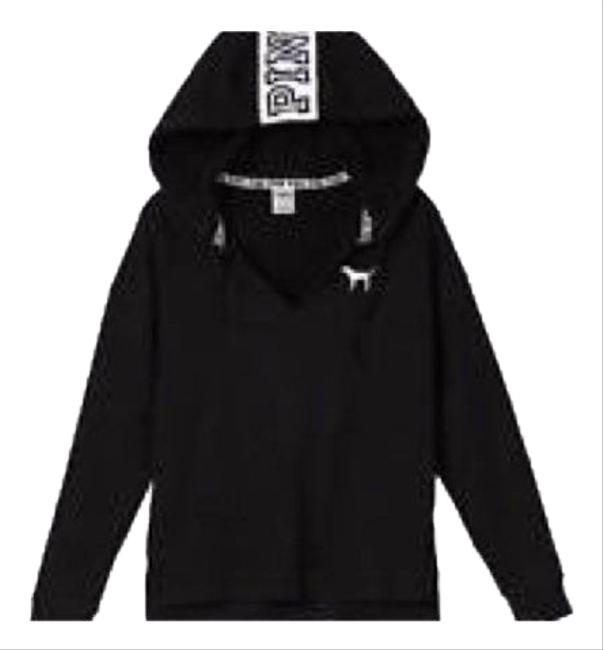 Preload https://img-static.tradesy.com/item/24887936/victoria-s-secret-black-sweater-pink-nation-on-hood-sweatshirthoodie-size-4-s-0-1-650-650.jpg