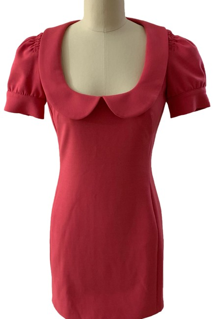 Preload https://img-static.tradesy.com/item/24888107/red-valentino-pink-short-cocktail-dress-size-2-xs-0-1-650-650.jpg