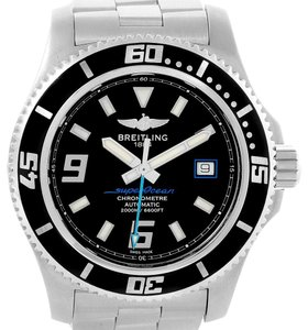 Breitling Breitling Aeromarine Superocean 44 Blue Hand Watch A17391 Box Papers