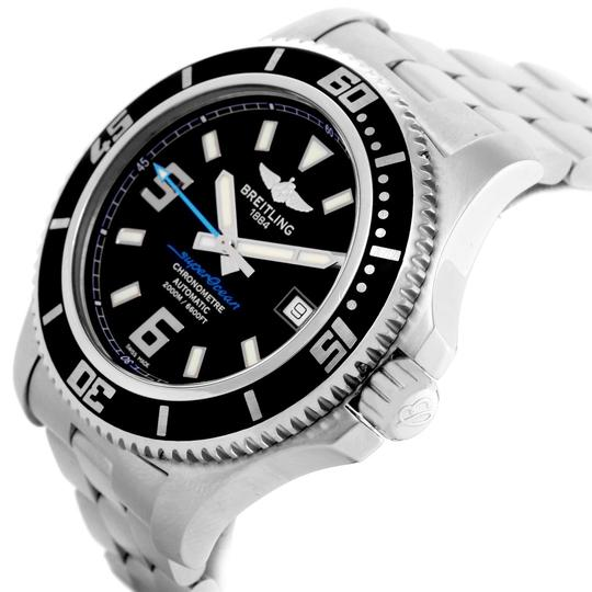 Breitling Breitling Aeromarine Superocean 44 Blue Hand Watch A17391 Box Papers Image 1