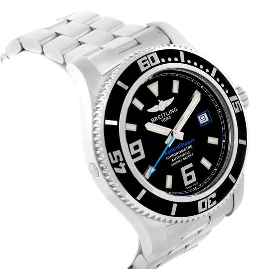 Breitling Breitling Aeromarine Superocean 44 Blue Hand Watch A17391 Box Papers Image 2