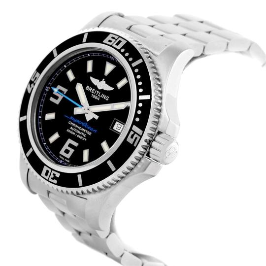 Breitling Breitling Aeromarine Superocean 44 Blue Hand Watch A17391 Box Papers Image 3