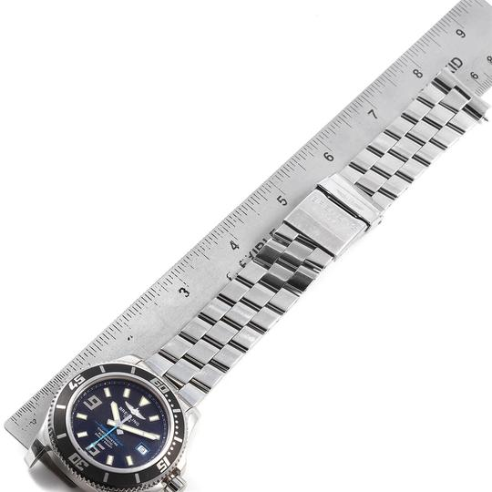 Breitling Breitling Aeromarine Superocean 44 Blue Hand Watch A17391 Box Papers Image 7
